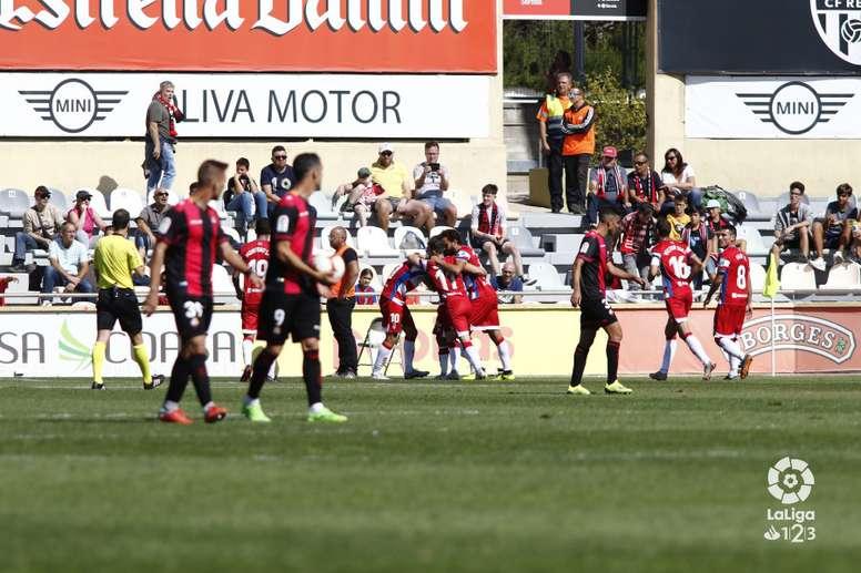 El Granada se llevó los tres puntos de Reus. LaLiga