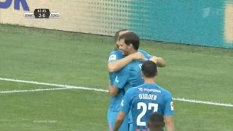 Zenit conquista a Supertaça.Twitter/zenit_spb