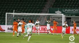 El Elche superó por 2-1 al Valencia en el Martínez Valero. LaLiga
