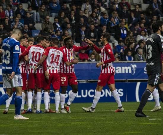 El Almería volvió a ganar lejos de casa. LaLiga
