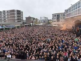 La pequeña ciudad holandesa de Almelo se ha echado a la calle. Heracles