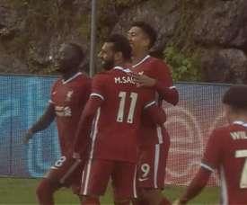Liverpool won 3-0. Screenshot/beINSports