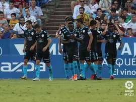 El Zaragoza sucumbió ante un buen Lugo. LaLiga