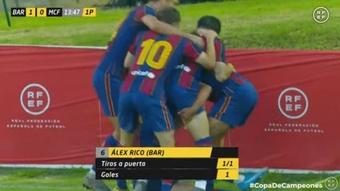 El Barcelona jugará la final de la Copa de Campeones ante el Dépor. Captura/RFEF