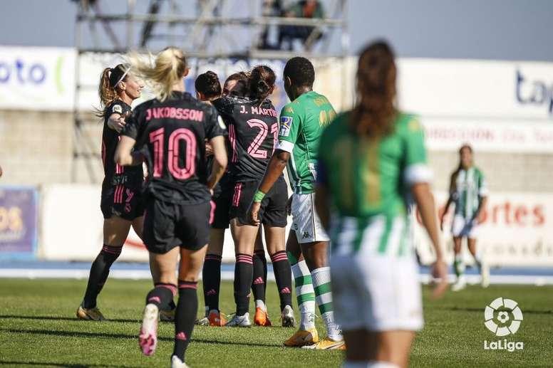 Goleada del Real Madrid Femenino en tierras verdiblancas. LaLiga