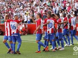 El Sporting se impuso a un sólido Extremadura. LaLiga