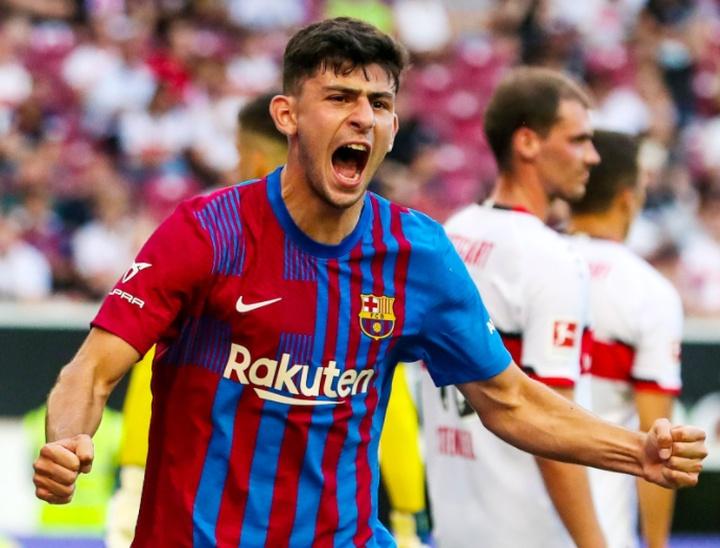 Yusuf Demir évoque ses débuts avec le Barça. Captura/Twitter