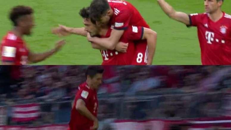 Humiliation du Bayern. Capturas/Vamos