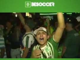 As celebrações foram intensas na Colômbia. BeSoccer