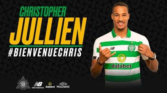 Celtic have signed Toulouse defender Christopher Jullien. Twitter/CelticFC  Add video