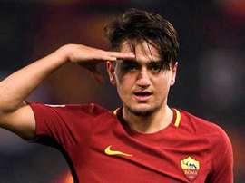 Officiel : l'AS Roma prête Cengiz Ünder à Leicester. Twitter/CengizUnder