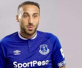 Tosun pourrait rejoindre Al Gharafa. Twitter/Everton