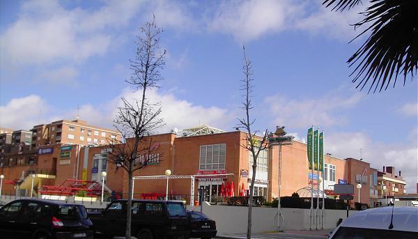Centro Comercial Nuevo Centro, lugar de la agresión al jugador del Ciudad de Talavera.
