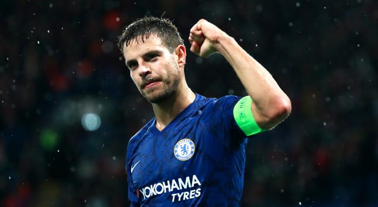 Le superbe maillot rétro de Chelsea. ChelseaFC