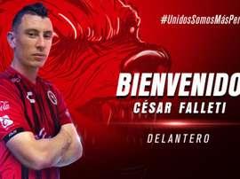 Falletti renforce l'attaque de Tijuana. Xolos