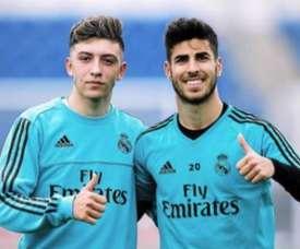 Le jeune du Real qui attire le Barça, Dortmund ou Lyon. Twitter/Gelabert