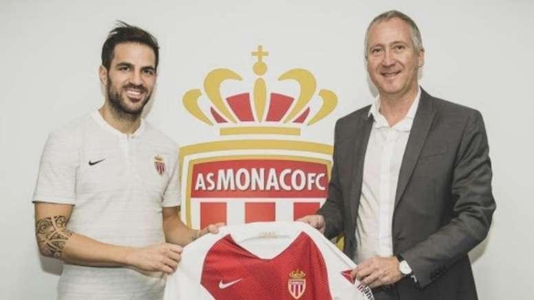Fabregas rejoint Monaco. EFE
