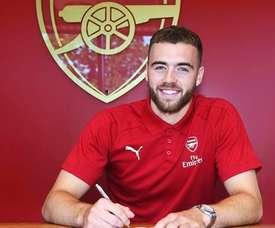Chambers prolonge. Arsenal