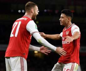 El Arsenal venció con claridad en la tercera ronda de la EFL Cup. Twitter/Arsenal