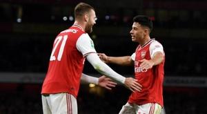 Arsenal won comfortably. Twitter/Arsenal