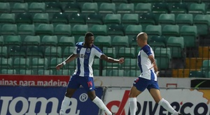 Caminho livre para o Porto no Campeonato Português. AFP