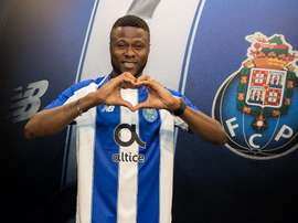 Mbemba has moved to Portugal. Twitter/FCPorto