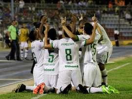 A partida marcou o regresso da formação catarinense às competições continentais. Conmebol