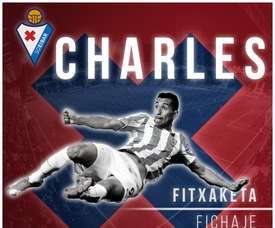 O atacante brasileiro mantém-se na La Liga. Twitter/SDEibar