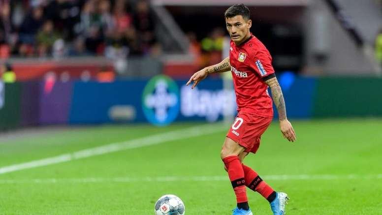 El Bayer Leverkusen quiere conservar al futbolista. Twitter/bayer04_es