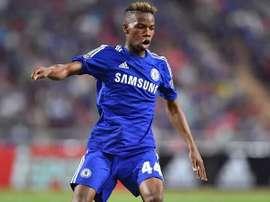 El belga se enfrenta a una sanción por parte de su club. Twitter/Chelsea