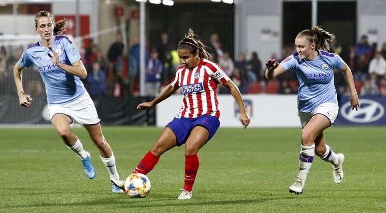 La táctica de Pablo López eliminó al City. AtletiFemenino