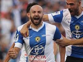 Chechu Flores analizó al Lleida. HerculesDeAlicanteCF