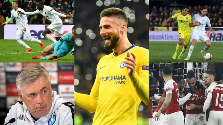 Chelsea, Arsenal y Nápoles, los rivales más duros de los españoles en Europa League. BeSoccer/EFE
