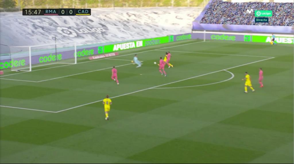 Gol del Choco Lozano al Real Madrid