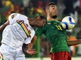 Le Cameroun affronte les Comores. AFP