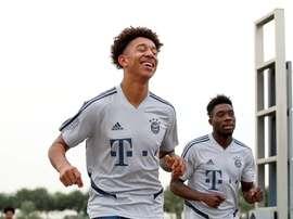 Le Barça veut chiper un jeune joueur au Bayern. Twitter/FCBayern