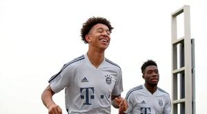 Jovem do Bayern está na mira de Barcelona e Valência. Twitter/FCBayern