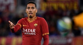 Chris Smalling has impressed his new club and fans at Roma. ASRoma