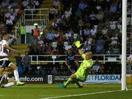 Christensen anotó el tanto del triunfo local. FulhamFC