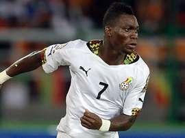 Christian Atsu, jugador del Chelsea y de la Selección Ghanesa. ChelseaFC
