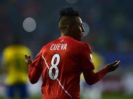 Christian Cueva currently plays in Mexico for Toluca. AFP