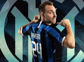 Eriksen escolheu o número 24. Inter
