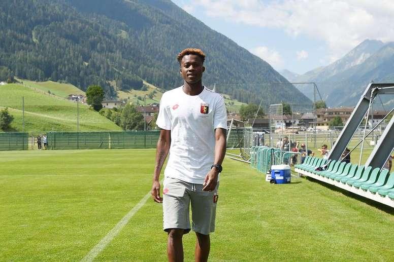 El Inter se apunta a la carrera por Kouamé. GenoaFC
