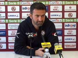 Christian Panucci comienza su andadura en el Ternana. LivornoCalcio
