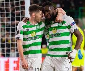 Celtic won 2-1. CelticFC