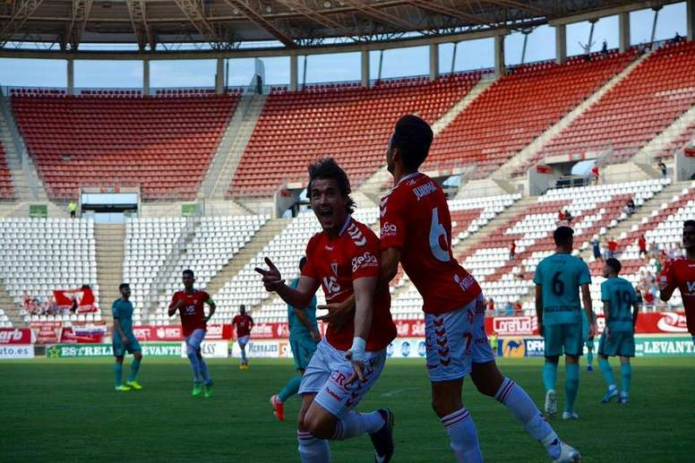 El Murcia empató ante el Algeciras. RealMurcia