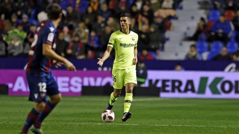 Chumi tenía una sanción con el filial. FCBarcelona