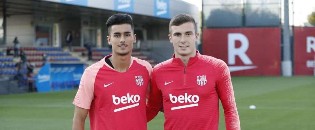 A saída de Jasper Cillessen fez o nome de Iñaki peña aparecer nos planos. . Twitter/FCBarcelona_es