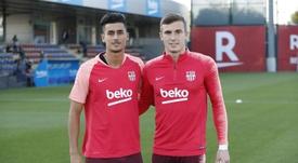 El Barça B cayó en la fase de ascenso con el Sabadell. Twitter/FCBarcelona_es