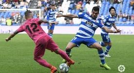 El Málaga ganó el duelo de colistas. LaLiga